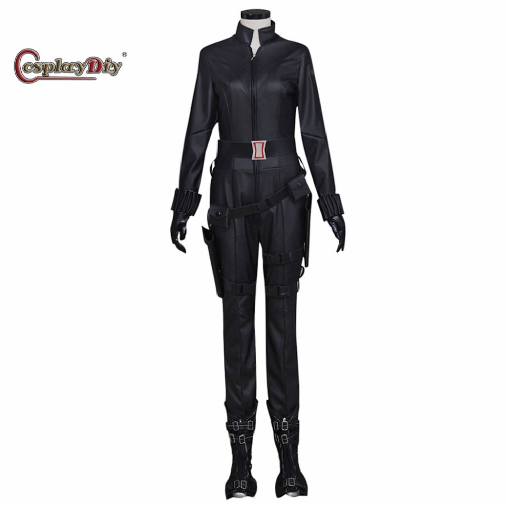 Us 135 0 Cosplaydiy Avengers Age Of Ultron Black Widow Cosplay Costume Halloween Costumes For Women Cosplay Outfit Custom Made In Movie Tv