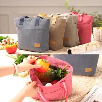 3 colores de fruta recibir bolsa cesta de almacenamiento de hogar portátil de almacenamiento de caja de almuerzo Conservación de calor Portátil Bolsa de Picnic