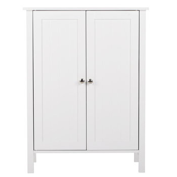 Teekland Modern Style Standing Double Doors Bathroom Cabinet