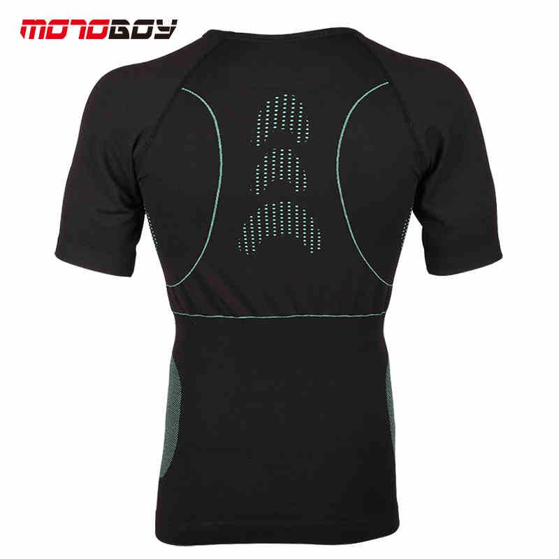 Motoboy hommes Sports de plein air T-shirt sueur absorbant manches courtes moto chemise séchage rapide respirant chemise Motocross