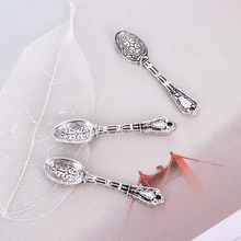 Female fashion jewelry zinc alloy pendant spoon retro silver metal accessories