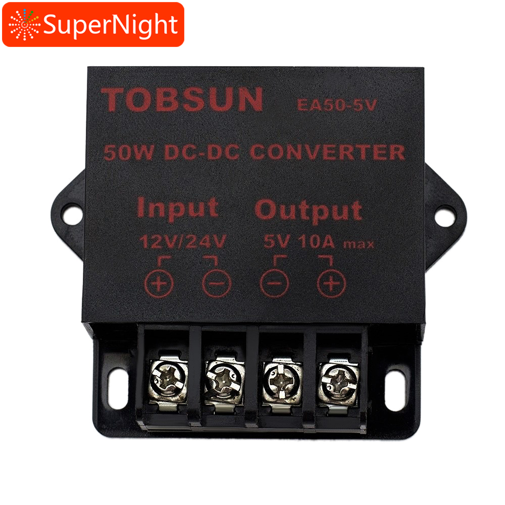 SuperNight DC 12V/24V to DC 5V 5A 25W DC-DC Converter Voltage Regulator Step Down Dropper Module Transformer Power Supply 12v to 5v 24v to 5v 5a dc dc step down power supply car power converter black page 8