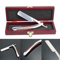 New Men Shaver Set Straight Razor Barber Folding Knife Classic Razors Barber Shaving Men's Barber Shaving Set Straight Razors