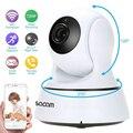 Беспроводная сетевая камера безопасности SACAM  720P  камера видеонаблюдения  IP  ночное видение  Wi-Fi  веб-камера  наклон  домашняя система видеона...