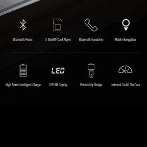 Image 5 - מטען לרכב Bluetooth MP3 מוסיקה נגן תמיכת TF כרטיס U דיסק MP3 WAV WMA FLAC APE CVC רעש דיכוי אוטומטי FM משדר