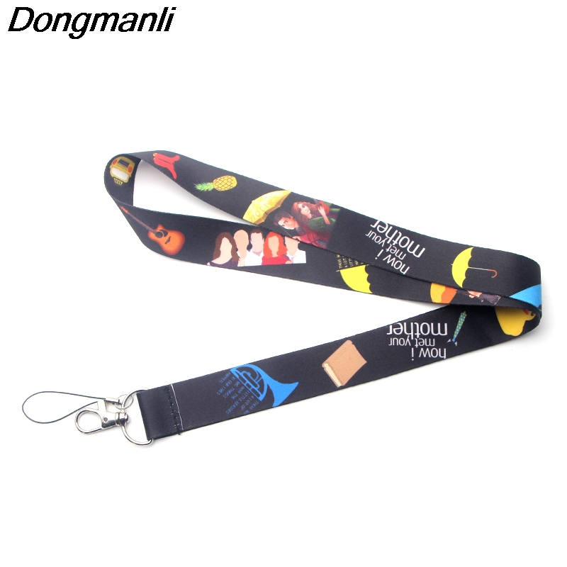 US $1 78 34% OFF|DMLSKY How I Met Your Mother TV Show Lanyard For keychain  Neck Key Strap for Phone Keys ID Card Cartoon Lanyards M3011-in Key Chains