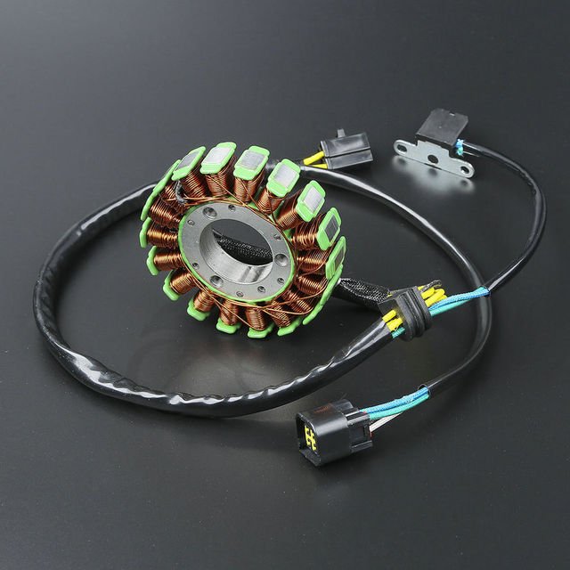 Motorcycle HIGH OUTPUT STATOR COIL For Suzuki DR Z 400 DRZ400 DRZ400S DRZ400E DRZ400SM 2000 2012