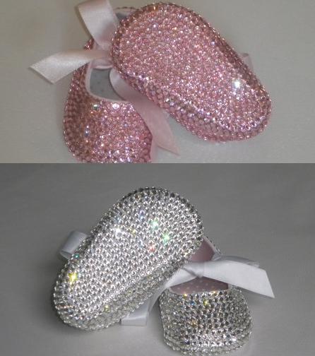 Strass bling do bebé sapatos fundo macio sapatos sapatos estilo princesa linda menina mão