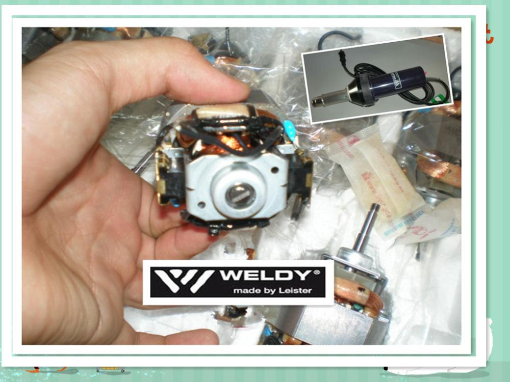motor of WELDY hot air gun accessories 1600W 1600w 92