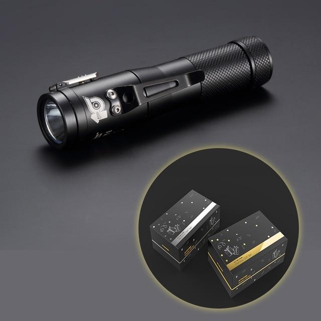 NITECORE 10th Anniversary Commemorative Edition Concept 1 1800 Lumens CREE XHP35 HD E2 LED Flashlight Magnetic Tailcap C1 Torch