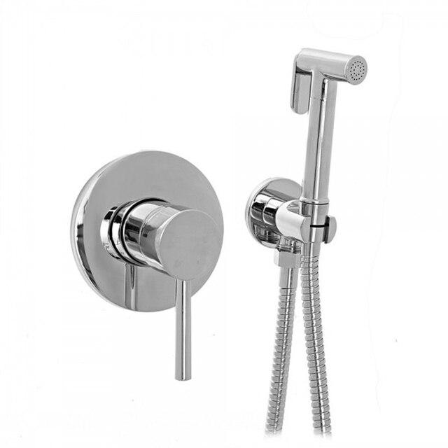 hand held bidet spray mixer shower set shower bidet faucet. Black Bedroom Furniture Sets. Home Design Ideas