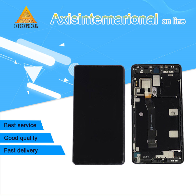 Axisinternational For 5.99 Xiaomi Mix 2 mix2 Mi Mix 2 LCD screen display+touch panel digitizer with frame for mi mix 2 MIMIX 2Axisinternational For 5.99 Xiaomi Mix 2 mix2 Mi Mix 2 LCD screen display+touch panel digitizer with frame for mi mix 2 MIMIX 2