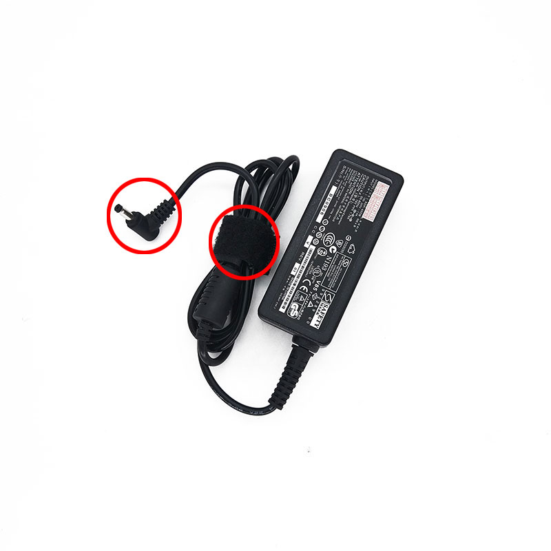 19V 1.75A 33W laptop AC power Adapter charger for <font><b>Asus</b></font> VivoBook R417NA R417SA X200 <font><b>X200CA</b></font> X200L X200LA S200E S200L image