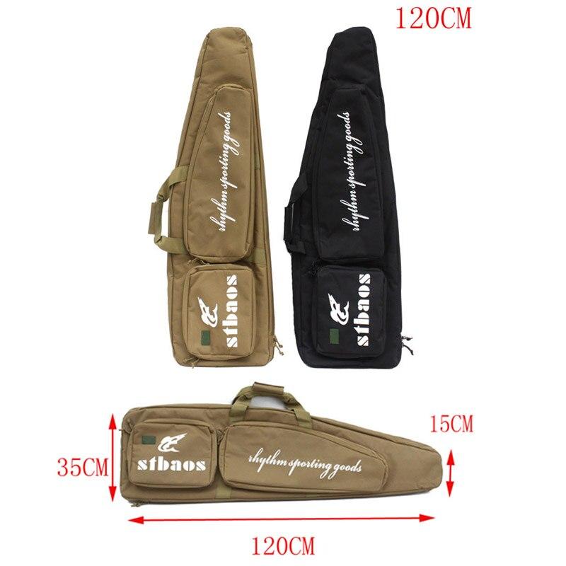 Tactique militaire 120 CM pistolet robuste biseau sac de transport mallette à fusil pochette à bandoulière sac à dos de chasse