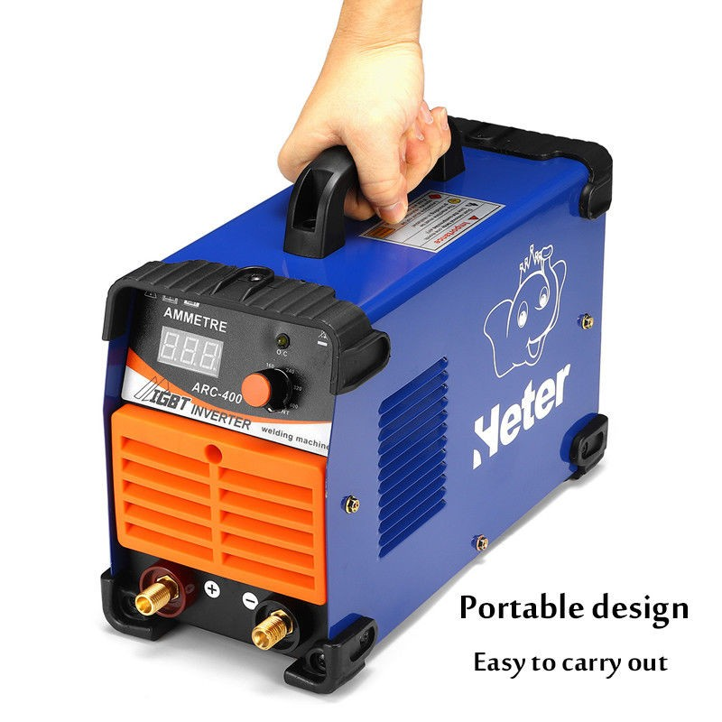Forceful 1xhandheld Mini Mma Electric Welder 220v Power Inverter Arc Welding Machine Tool Automotive Tools & Supplies