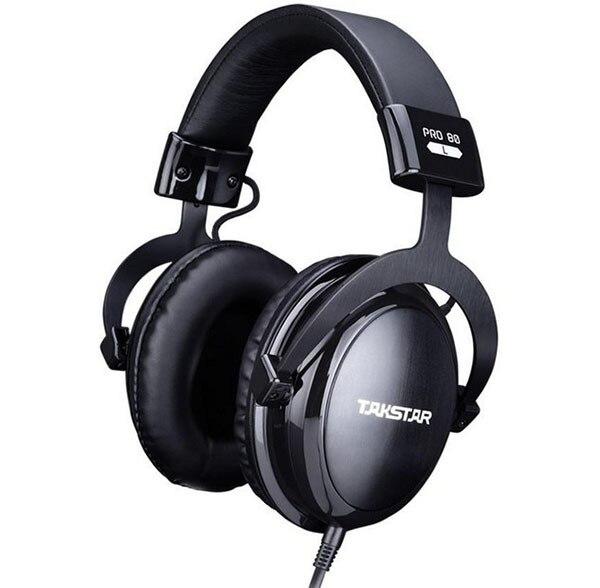 Takstar Pro 80 HI-FI Headset Pro-80 Professional Monitor Headphones Pro 80 Audio DJ Dedicated Stereo Music Gaming Earphone buy monitor jb hi fi