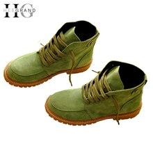 ฮีแกรนด์Z Apatos Mujerฤดูหนาวฤดูใบไม้ร่วงรองเท้าหิมะผู้หญิงบู๊ทส์เทียมขนใบบนข้อเท้ารองเท้าผู้หญิงรองเท้ารถจักรยานยนต์XWX3768