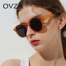 8d6353f1b375d4 OVZA Rétro Femmes lunettes de Soleil Transparent lunettes de Soleil Rondes Hommes  Vintage Cercle Lunettes Marque Classique lente.