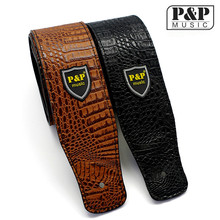 High Quality Guitar straps bass straps  leather quality Electric guitar strap/bass  PU personality S588