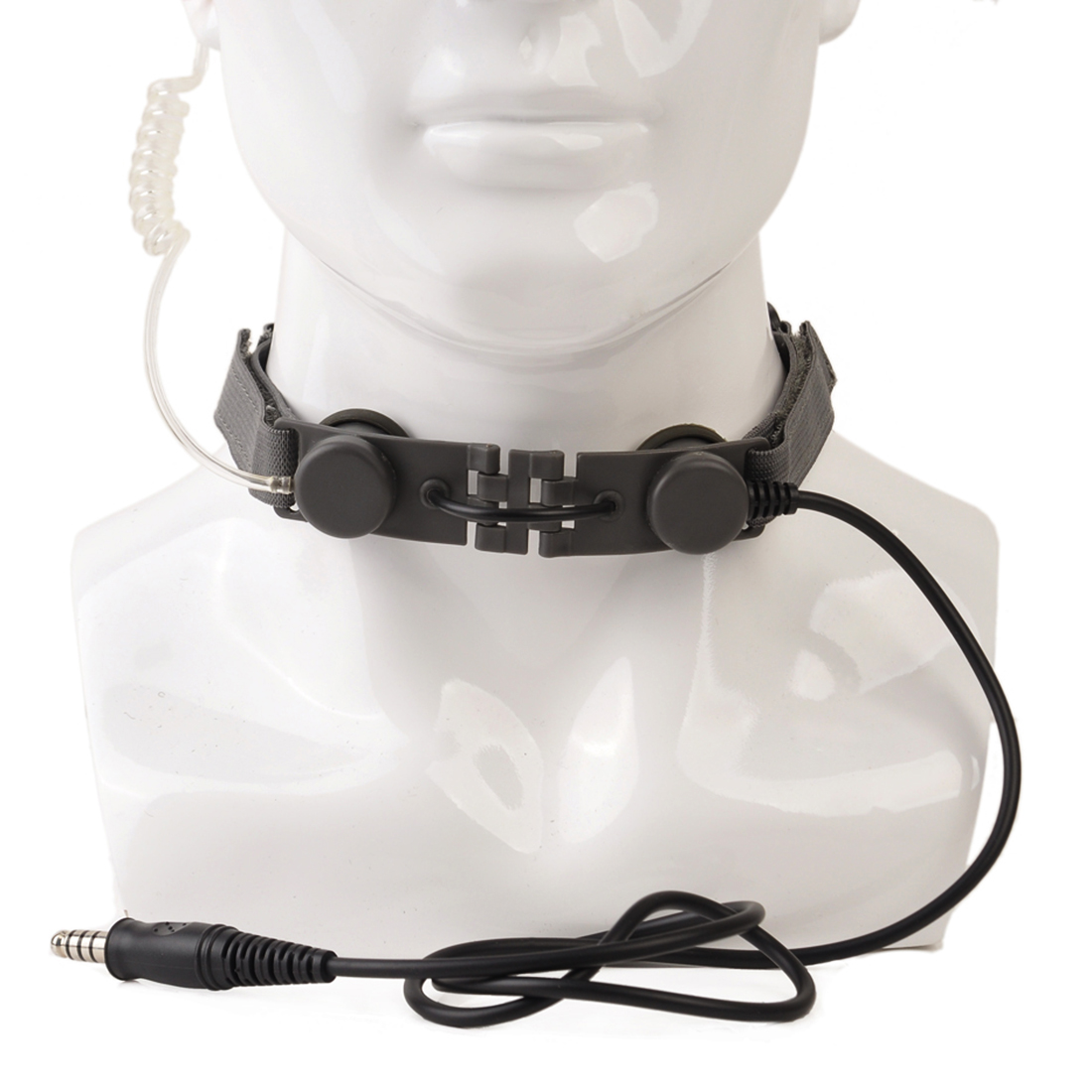 Surwish Z-Tactical Tactical Throat Mic for Nerf/ for Airsoft Outdoor Group Battle Game