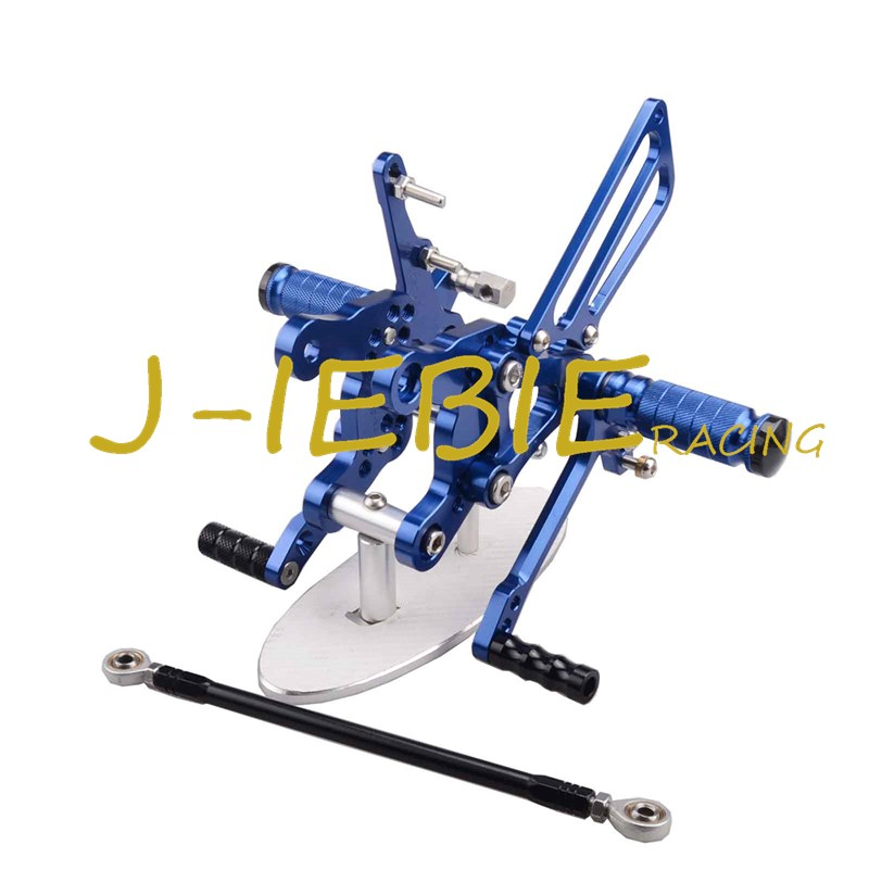 CNC Racing Rearset Adjustable Rear Sets Foot pegs Fit For Honda CBR893RR CBR919RR 1994-1999 CBR400 NC29 BLUE kingsun rear adjustable ball joint camber control suspension arm kit for 1990 1997 honda accord acura cl tl1996 1999 blue
