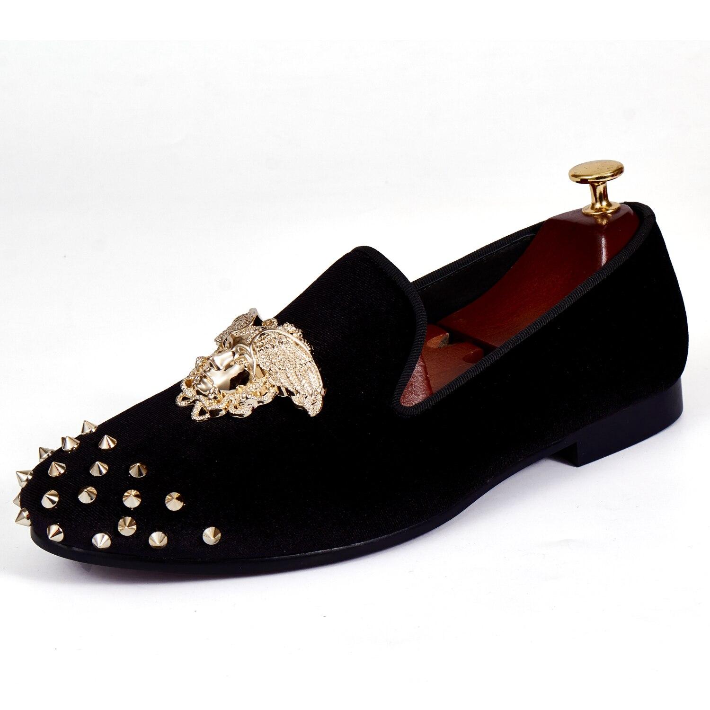 Harpelunde Medusa Buckle Men Dress Shoes Slip On Wedding
