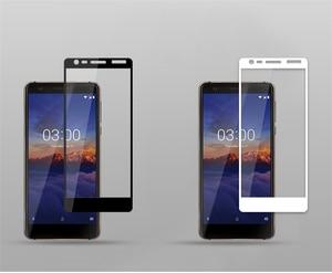 Image 3 - SFOR Nokia 3.1 temperado tampa de vidro completa Protetor de Tela Para Nokia 3.1 Vidro Cor Anti Explosão de protecção de vidro Para Nokia3.1
