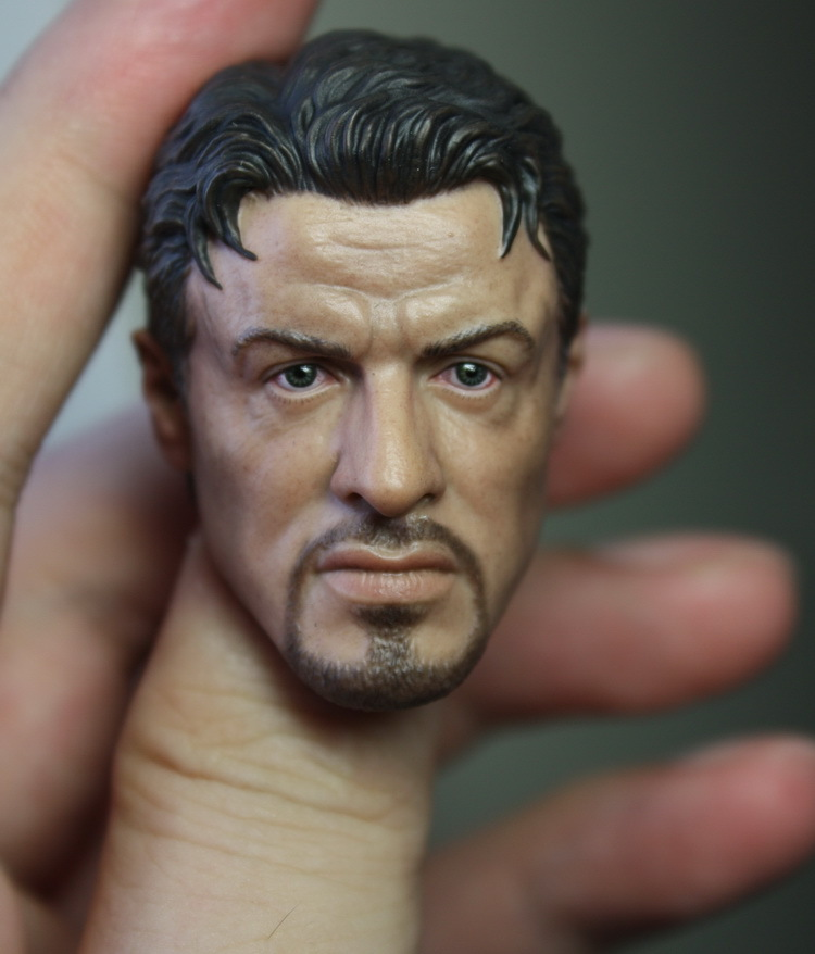 1/6 figure doll head.The Expendables Sylvester Stallone head shape 1.0.doll accessories for DIY12 action figure doll headsculpt sylvester
