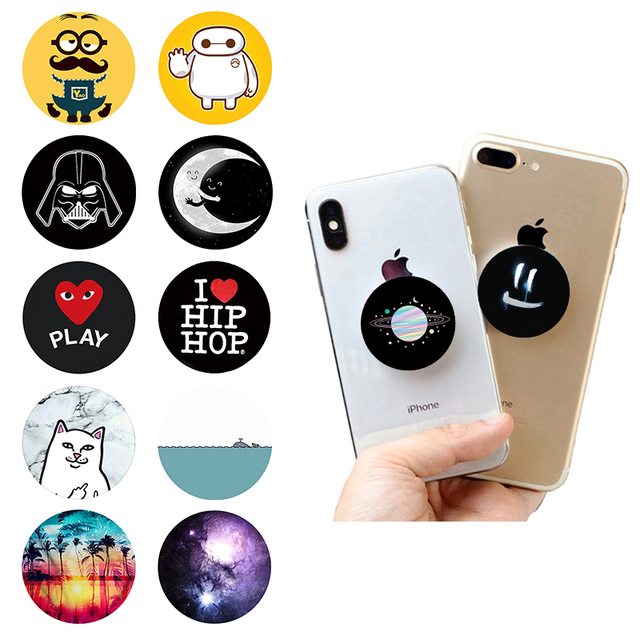 buy online ab568 50820 US $1.06  Marble Pop Socket Finger Holder Bracket Accessories Phone Stand  PopSocket for iPhone X 8 7 Xiaomi Redmi Smartphone Support-in Mobile Phone  ...