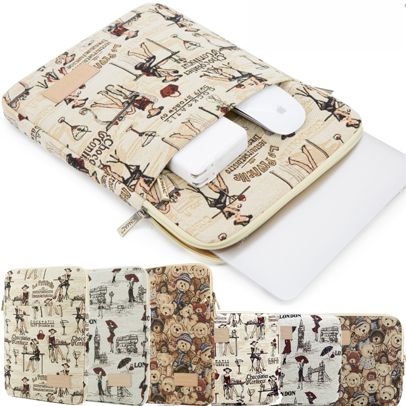 New Notebook Smart Cover Laptop Sleeve For Ipad Macbook Air/ Pro Case Cover 10 11 12 13 14 15 17 Inch Computer Bag Laptop Bag