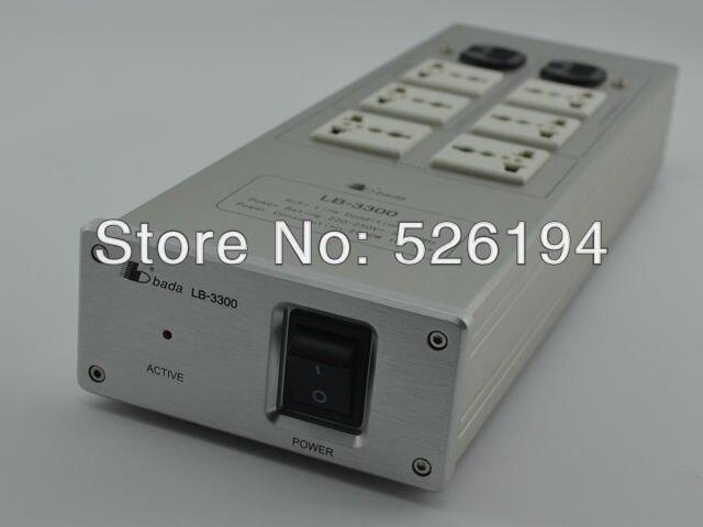 Livraison gratuite Bada LB-3300 Audiophile filtre d'alimentation Hi-Fi centrale avec boîte d'origine