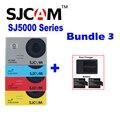 Original SJCAM SJ5000 SJ5000X Elite Plus SJ5000 WIFI Sj SJ 5000 30 M À Prova D' Água Câmera de Ação de Esportes DV Cam + 2 Battery Charger + Dual