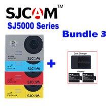 ต้นฉบับSJCAM SJ5000XยอดSJ5000พลัสSJ5000 WIFI SJ 5000 30เมตรกล้องกันน้ำกีฬาSjเวบDV + 2แบตเตอรี่+คู่ชาร์จ