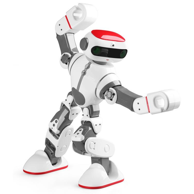 Smart Robot F8 Dobi Intelligent Humanoid Robot smartphone Voice Control Dance/Paint/Yoga/Tell Stories Robot VS Janpan Robi Robot ems dhl shipping wltoys f8 dobi intelligent humanoid voice control multifunction rc diy robot for children gifts