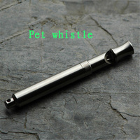 Titanium whistle, animal training whistle, adjustable frequency training pet necessities Give children the best gift