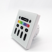 2.4 Г RG milight RGBW LED Сенсорный выключатель Панель Controlle настенный контроллер 4 канала 110 В 220 В