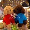 18cm Cute Simulation Puppy Kids Dolls Curly Plush Teddy Dog Stuffed Pet Soft Anime Toys For Children Birthday Christmas Gifts 4