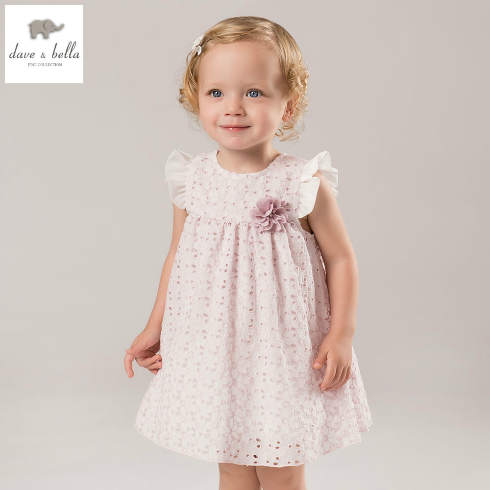 DB5282 dave bella summer baby girls princess dress childs