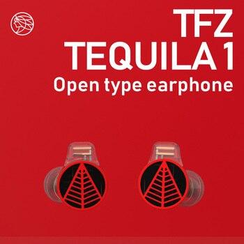 TFZ/TEQUILA Fones De Ouvido do monitor profissional, 22 Impedância, tomada de 3.5mm, TFZ Audiophile Rock And roll para iphone