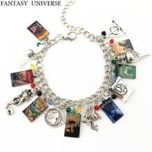 Fantasy Universe 20 шт. в партии hp Чехлы для книг Шарм браслет HRFGFG01