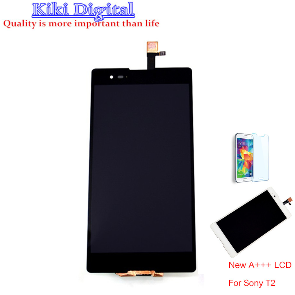 ФОТО 2pcs New LCD Display Touch screen Digitizer Assembly  For Sony Xperia T2 Ultra D5303 D5306 Free shipping !!!