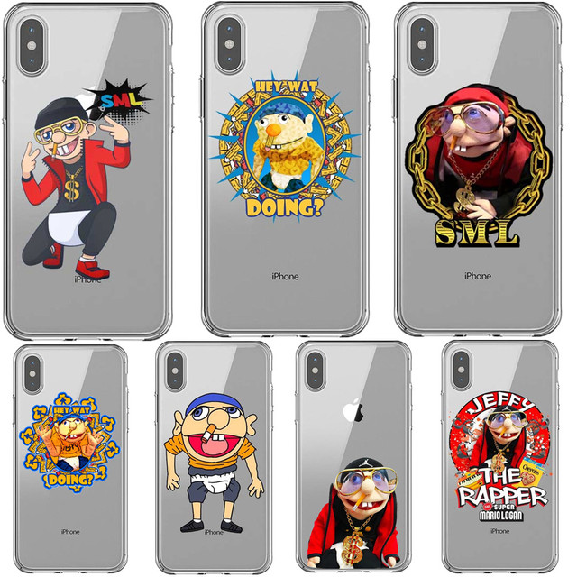 204de49155f7 SML JEFFY HOPS Soft Silicone TPU Phone Cases for iPhone 5 5s SE 6 6SPlus 7  7Plus 8 8 Plus X XR XS MAX XS 5.8 6.1 6.5 inch Cover