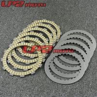 For Honda CBR400 NC23 CB400 CB 1 Clutch Friction Kit Disc Plates Set Motorbike Parts Accessories