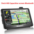Katarina 7inch Bluetooth AV-IN Capacitive screen gps navigation 8G 128M free shipp navitel or europe map truck car gps navigator
