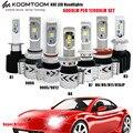H8E 9004 H4 LED Headlight Car High Low Beam 80W 12000LM White 6500K H16 H8 H11 9005 9006 H7 Car LED Headlight Lamp Bulb DC12-24V