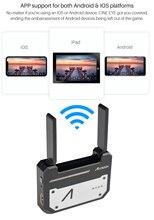 CINEEYE 5G אלחוטי וידאו משדר מיני DH תמונה אלחוטית שידור HDMI 3D LUT טעינה עבור Andriod טלפון IOS iPhone iPad