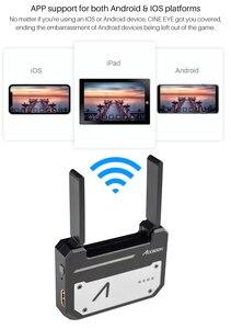 Image 1 - CINEEYE 5G HDMI Transmissão De Imagem Sem Fio Transmissor de Vídeo Sem Fio Mini DH 3D LUT Carregamento para Telefone Andriod IOS iPhone iPad