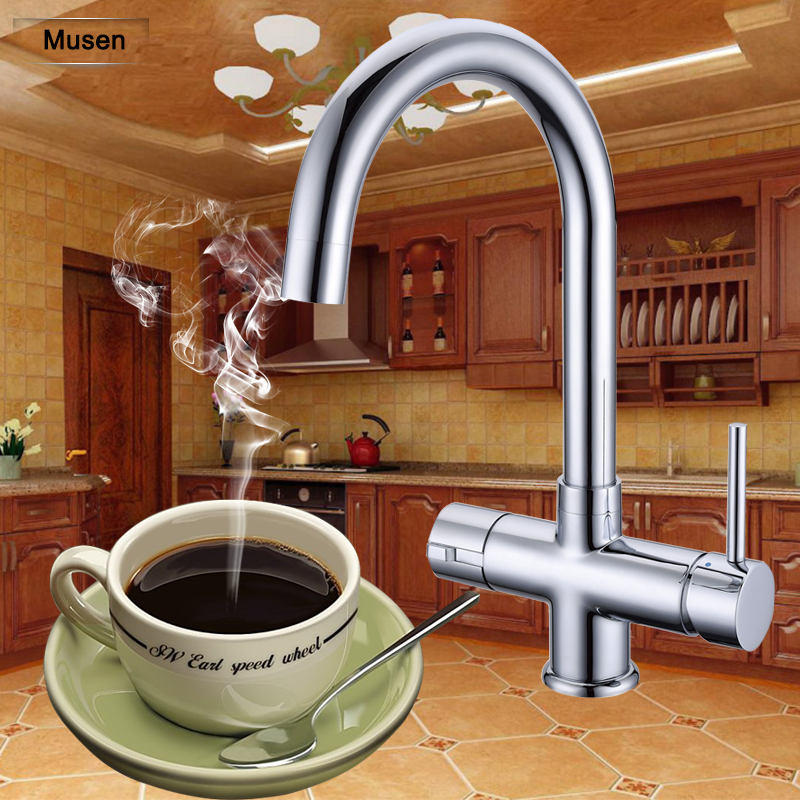 Electric Hot Water Tap Water Heater Boiler 98c Boiling Water Tap With Child Lock Instant Hot
