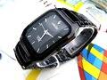 Longbo Marca de Relojes de moda Masculina Casual de Negocios Deportes Relojes Del Cuarzo Del Regalo Reloj de Vestir Relojes de Pulsera de Acero Inoxidable Negro Completo