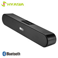 HYASIA Speaker Bluetooth 5.0 Soundbar FM Portable Subwoofer Wireless Speakers Sound bar PC AUX Home Theater Computer Speaker TV